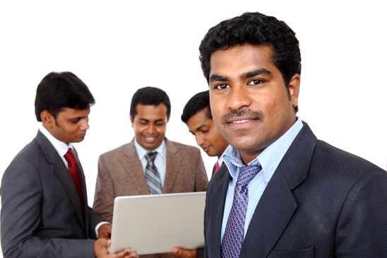 Indian business men
