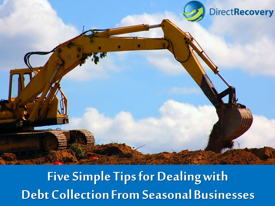 debt collection for seasonal businesses